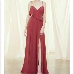 Amsale Arabella dress in SLATE (not red)